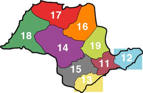 São Paulo Por Código de Área